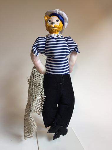 poupée pêcheur cat