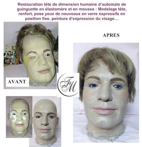 restauration-tete-automate-de-guingette-poupees-reparation-maquillage-la-clinique-des-poupees-fabienne-mogue-maitre-artisan-d-art